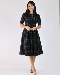 Chic and casual outfits ideas for women fashion ideas Trendy Dresses, Simple Dresses, Casual Dresses, Casual Outfits, Cotton Frocks, Cotton Dresses, Frock Fashion, Fashion Dresses, Fashion Clothes