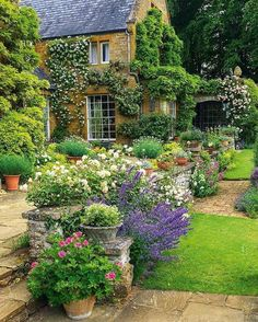 Country flower garden ideas 37