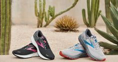 """Brooks' New """"Eco-Friendly"""" Sneaker Combines Comfort and Sustainability Running Company, Rockaway Beach, Popular Sneakers, Sustainable Textiles, Liner Socks, Sustainable Development, Sneaker Brands, New Shoes, Climate Change"""
