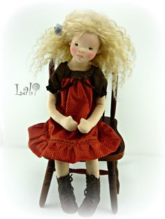 "Faye- 16"" collector doll"
