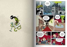 """Secretos Arcanos: La maldición del tentáculo moteado"". Comic-book by Ángel A. Svoboda edited by the publishing house Dibbuks. www.iamican.com"