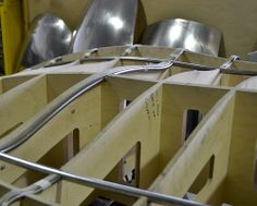 Body frame let into a 3D Engineers section buck. Ad hoc and perfect method for saving time during a body build.