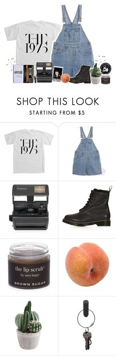 """""""baby soft skin turns into leather"""" by souless-teenager ❤ liked on Polyvore featuring Polaroid, Impossible, Topshop, Sara Happ, Pavilion Broadway and PA Design"""