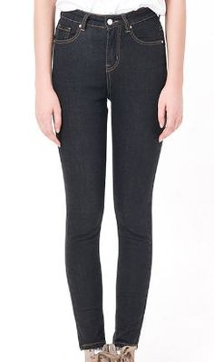Jeans Leggings Style Elastic Denim