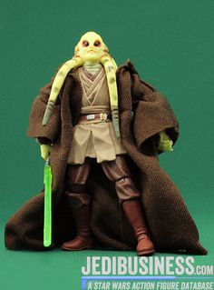 Star Wars Action Figure Kit Fisto (Jedi vs. Darth Sidious 5-Pack), Star Wars The Saga Collection