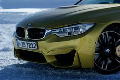 BMW M4 in Snow