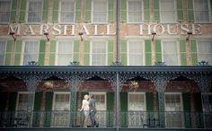 Marshall House; #Savannah wedding #venues
