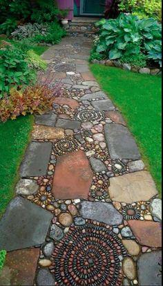 flagstone and gravel walkways google search www