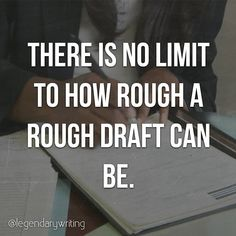 Remember, all a rough draft has to do is exist. It won't be on par with the final published copy and you shouldn't expect it to be. #writer #poetsofinstagram #writing #author #reader #amwriting #book #books #bookstagram #bookworm #reading #realtalk #relatable #truth #goals #poems #inspiration #success #quotestoliveby #quoteoftheday #quotes #wisdom #instagood #instalike #instadaily #motivation #writerscommunity #writersofig #writersofinstagram #writerslife