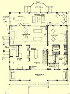 Dogtrot Floor Plans Hot Humid Solutions Southern House