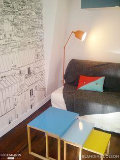 Rénovation et décoration d'un studio de 18 m² à Paris, Paris, Un air de déco - décorateur d'intérieur