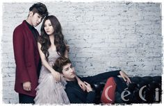 DBSK and SNSD's Seoyoung on the Cover of CeCi November 2012