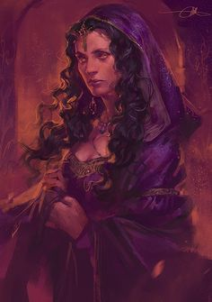Gorgeous Morgana fanart ~ totally looks like Marcia Overstrand