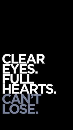 Clear eyes. Full hearts. Can't lose. #fridaynightlights #coachtaylor