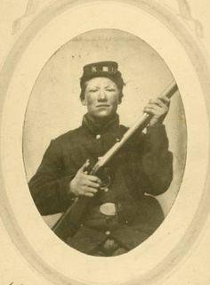 """Syver (Sivert) Larson :15th Wisconsin """"Scandinavian"""" Regiment: Wisconsin in the Civil War"""