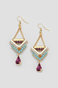 Blake Chandelier Earrings