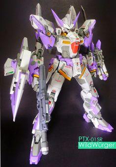 "Custom Build: 1/100 PTX-015R Wildwurger ""detailed"""