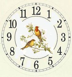 Коллекция картинок: Циферблаты для часов, часть 2