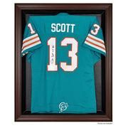 #NFLShop.com - #NFLShop.com Miami Dolphins Fanatics Authentic Brown Framed Logo Jersey Display Case - AdoreWe.com