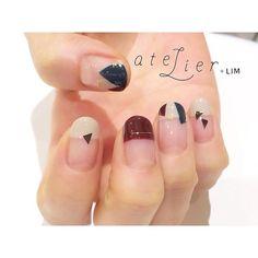 ▲□◯ . @atelierlim . 大好きな季節はもうすぐ! . #atelierlim #nail #eyelash #LIM #西山#アトリエ…
