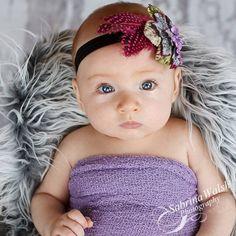 Baby Headband / Newborn Headband  Infant Headband by BabyKDesigns, $13.95