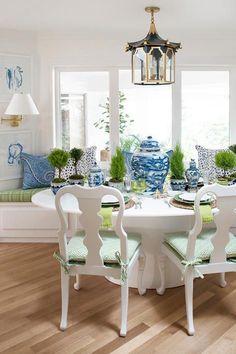 A Playful Breakfast Room