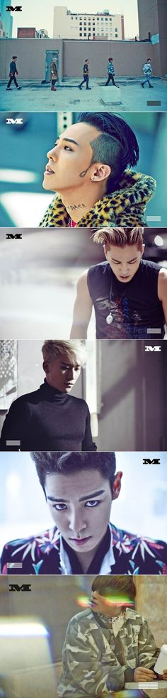 BigBang GDragon Taeyang Seungri TOP Daesung Cool on MV Loser