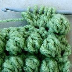 Crochet Bobble Stitch - Tutorial