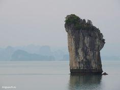 Bahia de Halong (Vietnam): Escama de Dragón.