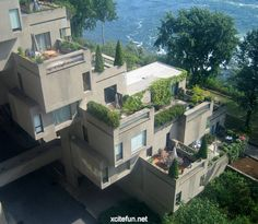Habitat 67 Housing Complex  Cubic Residence