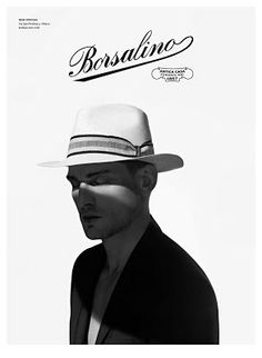 The Essentialist - Fashion Advertising Updated Daily  Borsalino Ad Campaign  Spring Summer 2014 a15567c5c225