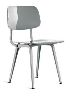 The Revolt chair, originally designed in 1953 by the Dutch industrial designer Friso Kramer.