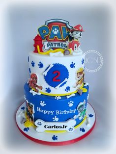Awesome Picture of Paw Patrol Birthday Cake . Paw Patrol Birthday Cake My Cake Sweet Dreams Paw Patrol Birthday Cake Baby Boy Birthday Cake, Bithday Cake, 3rd Birthday Cakes, Happy Birthday, Boy Birthday Parties, Paw Patrol Birthday Decorations, Paw Patrol Birthday Cake, Paw Patrol Party, Cake Disney