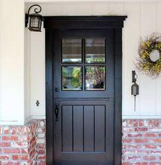Double Dutch Door Doors French Playhouse Aaroncarver Dutch Door For Sale Best Front Doors, Exterior Front Doors, Back Doors, Entry Doors, Colonial Front Door, Dutch Colonial, Swinging Doors Kitchen, Interior Doors For Sale, Rustic Exterior