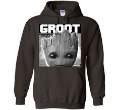 Marvel Groot Guardians of Galaxy 2 Innocent Graphic T-Shirt