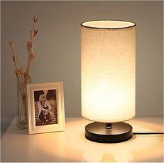 DEEPLITE Table Lamp with Fabric Shape Wooden Base, Bedsid... https://www.amazon.com/dp/B071LQFBZL/ref=cm_sw_r_pi_dp_x_H.qBzbMGW359A