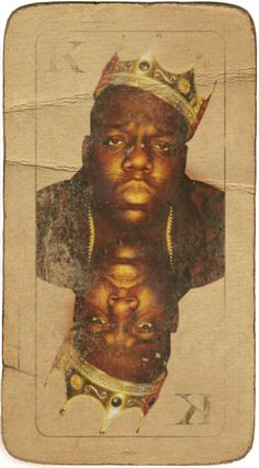 frsch:    Biggie x FRSCH  Play B.I.G.  Old playing card I found in my boxes