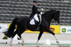 One of my favorite horse and rider teams: Le Noir and Uta Graf.