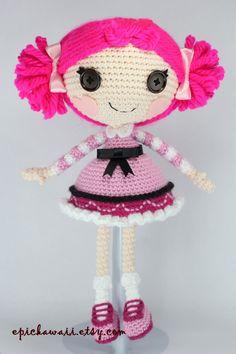 PATTERN: Toffee Crochet Amigurumi Doll by epickawaii on Etsy