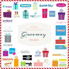 $860  Kids Giveaway - MamatheFox's Annual Gift Guide Giveaway Kids Edition