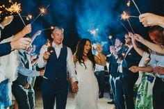 Sopley Mill wedding, Dorset. Beautiful night shot with sparklers 😍🍹💕 Wedding…