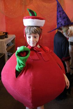 """Apple Boy by staceyrebecca, via Flickr  (found this on the pinterest...figured I get to put it under """"pintered"""". Since that's my kid & all.)"""