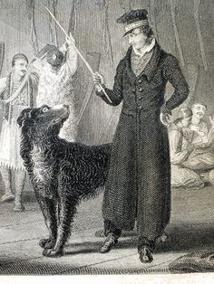 Byron: Engraving of Lord Byron with his Newfoundland dog, Lyon of whom he'd say: Lyon.thou art more faithful than men and I trust thee more. Art Through The Ages, Man And Dog, Dog Art, Mans Best Friend, The Guardian, Dog Pictures, Best Dogs, Lord Byron, Pup