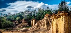 Phae Mueang Phi 3, Thailand's Rock Formation - null