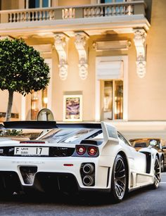 Ferrari Enzo MIG U-1, created by Uwe Gemballa. Only one exists in the world. $3,800,000 and it's yours.