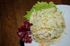 """"""" Zimówka """" ,czyli zimowa , surówka z białej kapusty - Ogrodnik w podróży Guacamole, Potato Salad, Cabbage, Grains, Salads, Potatoes, Mexican, Rice, Vegetables"""