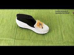Emelce Gönlümce Ev Ayakkabısı Patik Modeli - YouTube