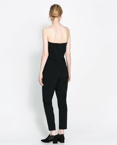 Image 2 of STRAPLESS JUMPSUIT from Zara