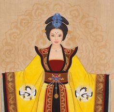 Wu Zetian-In the 4,000 year history of the Chinese Empire, only one woman was ever bold – or powerful – or hardcore – enough to seize control of the Imperial Throne and openly dominate the Middle Kingdom with the full weight of an honest-to-god Son of Heaven Emperor of China