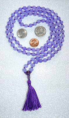 8 MM AGATE PURPLE PRAYER BEADS HAND KNOTTED JAPA MALA NECKLACE WITH AMETHYST GURU BEAD. KARMA (108+1) BEADS. BLESSED & ENERGIZED HINDU TIBETAN BUDDHIST SUBHA ROSARY MALA FOR NIRVANA, BHAKTI, FOR REMOVING INNER DOSHAS, FOR CHANTING AUM OM, FOR AWAKENING CHAKRAS, KUNDALINI THROUGH YOGA MEDITATION-FREE MALA POUCH AWAKEN YOUR KUNDALINI http://www.amazon.com/dp/B00Z8A2HOE/ref=cm_sw_r_pi_dp_onp1vb0YXDCKZ
